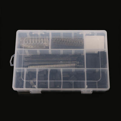 1450Pcs For Dupont Connector 2.54mm Dupont Cable Jumper Wire Pin Header Housing