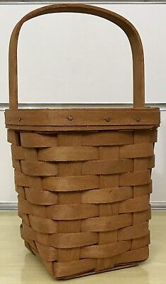 Longaberger Medium Peg Basket 1990