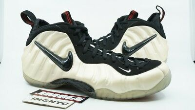 2ea13faf5a47 Nike Air Foamposite Pro Used Size 14 Pearl White Black True Red 624041 206