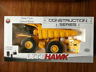 Litehawk  2.4 Ghz Radio Controlled Construction Series Dump Truck 50001 F/s