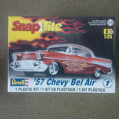 Revell 1/25 Snap Tite 1957 Chevy Belair Plastic Model # 85-1931 Factory Sealed