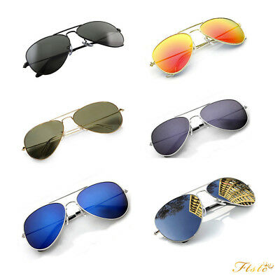 7bf4b56383 New Aviators Sunglasses Fashion 80s Retro Designer Shades Mens Womens Ladies
