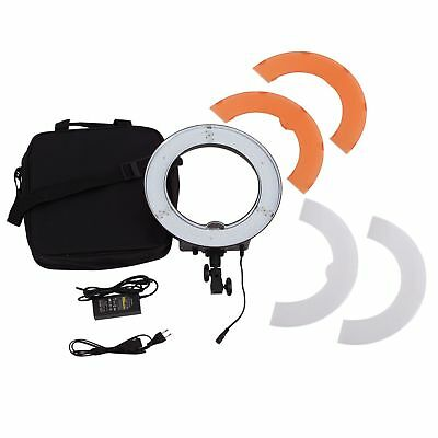 """18"""" 5500K Dimmable LED Ring Light Kit With Light Stand for Camera Photo Video"""