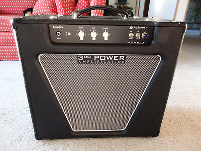 3rd Power Amplification Dream Solo 1 Brownface Deluxe 22 Watt Boutique Tube Amp