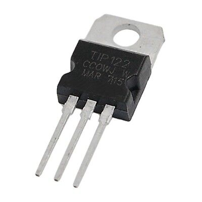 25 Pcs TIP122 100V 5A DIP Power Transistor for General Purpose Amplifier Z6F2