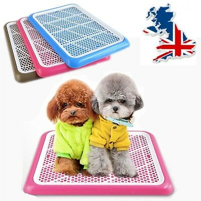 Large Dog Cat Mat Indoor Potty Puppy Trainer Litter Tray Toilet Pad Restroom UK