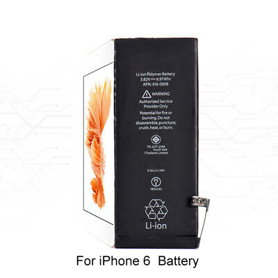 New High Quality Li-ion Internal 1810mAh  Battery Replacement for iPhone 6