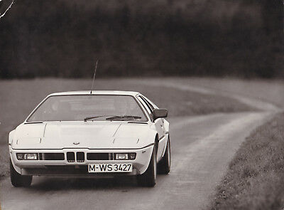Bmw M1 Period Photograph.