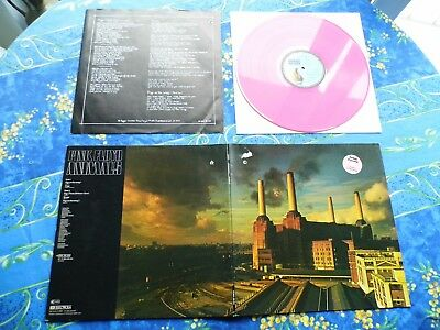 Pink Floyd ♫ Animals ♫ Rare Limited Pink Wax Lp Records #111A