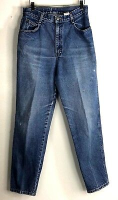 Vintage Gitano Womens SIze 12 High waisted Relaxed Fit Tapered leg Mom jeans