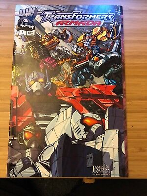 Transformers - Armada (July 2002) #1 (Fold out cover) mint