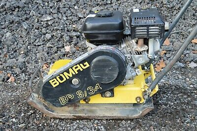 Wacker Plate Bomag Bp 8/34 Vibrating Plate, Compacter