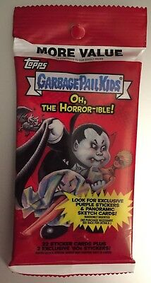 2018 Garbage Secchio Bambini Oh Horror-Ible Fool's Gold Parallelo #/50 Enorme