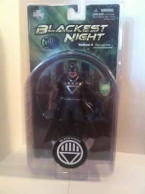 DC Direct Blackest Night Series 4 Black Hand Figure NIP