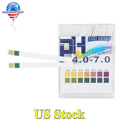 PH Test Strips 4.0-7.0 0.5 Precision DF Precision PH Acid Alkali Color Contrast