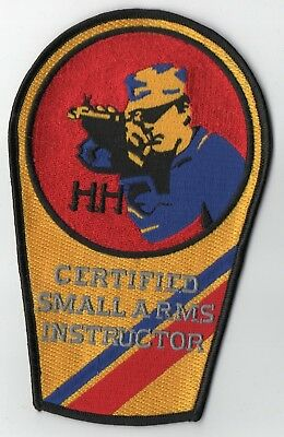 US Coast Guard Certified SMALL ARMS Instructor Patch