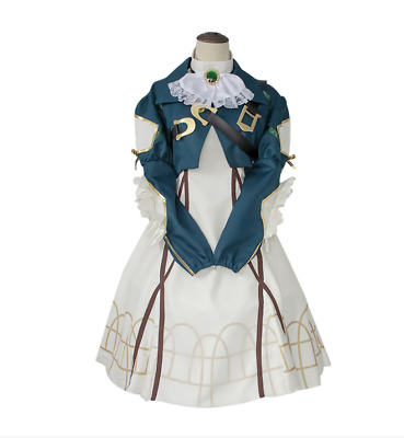 2d88a15c1fe Violet Evergarden Cosplay Auto Memory Doll Uniform Suit Anime Outfit Costume  New