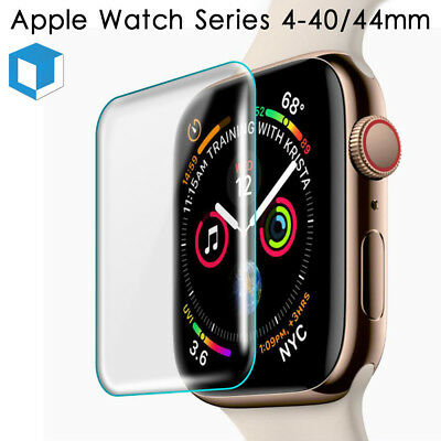 For Apple Watch Series 4 3 2 38-44MM Full Cover Tempered Glass Screen Protector
