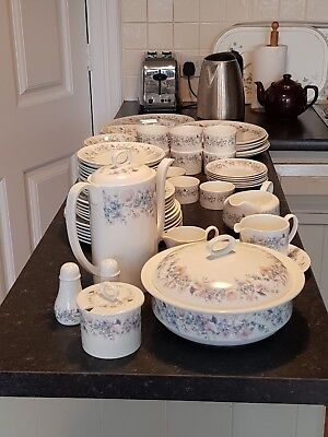 """Wedgwood Angela (Smooth Edge) """"REPLACEMENTS"""" 1st Quality Plates, Cups, Coffee"""