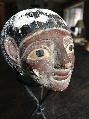 Ancient Egyptian Statue Head