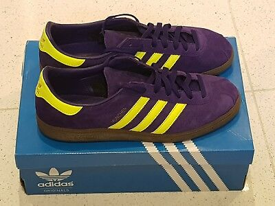 save off e602f 80552 Adidas Munchen Spzl UK 11 Purple Solar Japanese Used Excellent Condition  Malmo