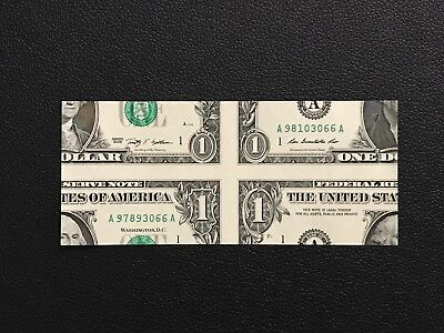 Mismade Bill Inside-Out $1 Genuine US Currency Magic Trick Prop FREE SHIPPING