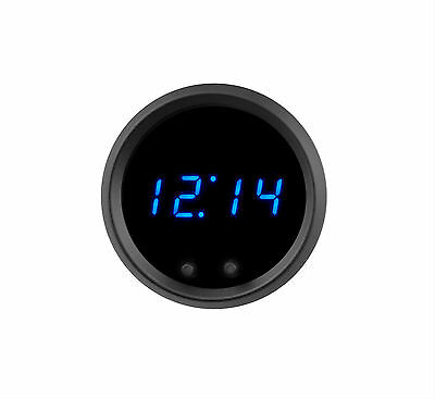Automotive Digital Clock BLUE LEDs Made in USA! Lifetime Warranty! Intellitronix