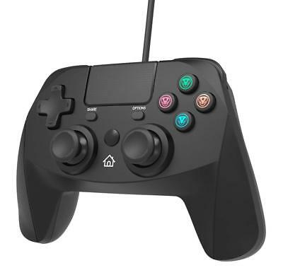 Snakebyte Wired Controller For PS4 - Black