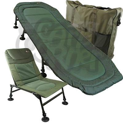 NEW NGT UNIVERSAL FISHING BEDCHAIR/CHAIR ORGANISER BIVVY BED STORAGE TIDY BAG Anglers' Equipment