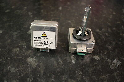 1x D3S Genuine GE gas discharge bulb.