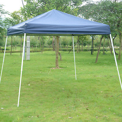 Outsunny Slant Leg 10 Ft. x 10 Ft. Steel Pop-Up Canopy