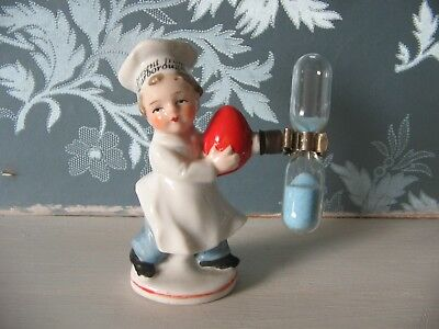 Vintage Chef Sand Hourglass Egg Timer - Scarborough Souvenir
