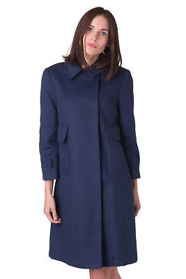 L'AUTRE CHOSE Coat Size 44 / L Wool Blend 3/4 Sleeve Made in Italy RRP €510