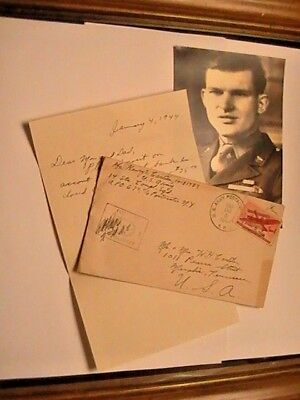 Ww2, My Personal Letter, Cover,,censor Stamp,1943 Photo