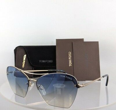 Brand New Authentic Tom Ford Sunglasses FT TF 0507 28W TF 507 Annabel 58mm Frame