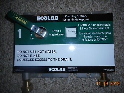 ECOLAB  92214296-01 Foaming Station