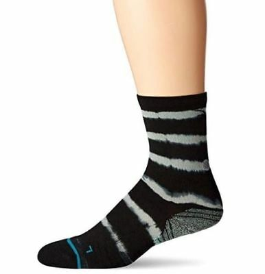 Stance 2223 Mens Black Momentum Crew Running Socks Size XL (13-16)