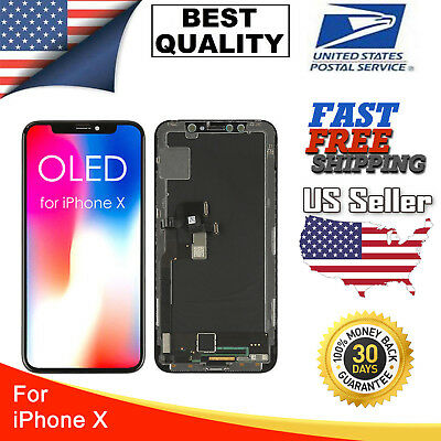 OEM OLED Display LCD Touch Screen Digitizer Assembly Replacement For iPhone X 10