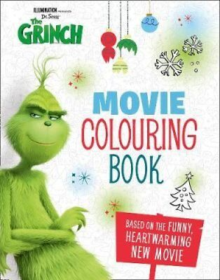 The Grinch: Movie Colouring Book Movie Tie-in 9780008288259 (Paperback, 2018)