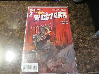 All Star Western #1-2011  Jonah Hex New 52   1st Standard cover version