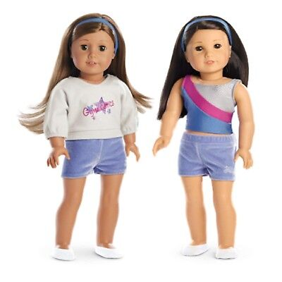American Girl Truly Me 2-in-1 Gymnastics Practice Outfit for dolls new