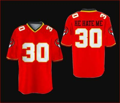 57a0dfa52 R Smart He Hate Me Football Jersey All Sewn LV Outlaws All Size RARE FREE  SHIP