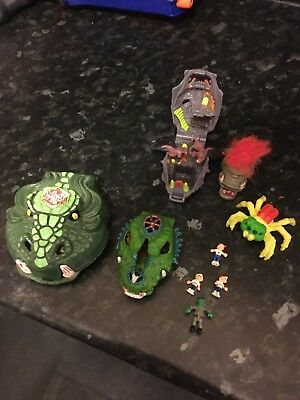 Collection of Mighty Max Models and Figures, Bluebird Toys 1992-1993