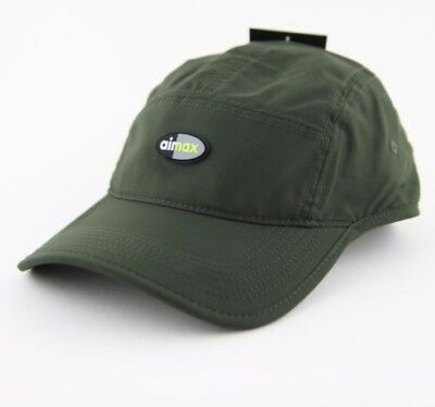 49bb7eb6bf8 Adult Unsex Nike AeroBill AW84 Air Max Five Panel Cap 916350 355 Green