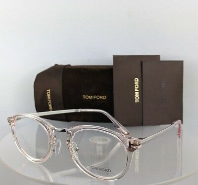 Brand New Authentic Tom Ford Eyeglasses FT TF 5467 072 48mm Transparent Pink
