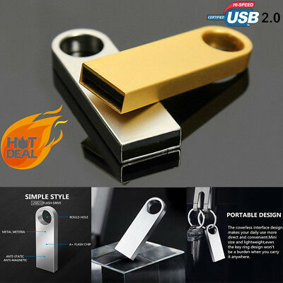 2TB 1TB 512GB Key Ring USB 2.0 Flash Drives Memory Stick Pen Thumb U Disk