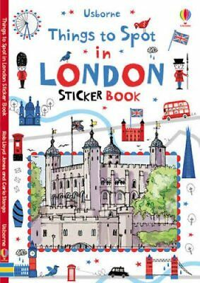 Things to Spot in London Sticker Book 9781409586050 (Paperback, 2015)