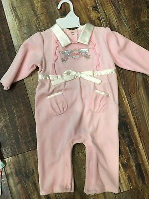 NWT baby girl 6-9 month Harley Davidson one piece outfit