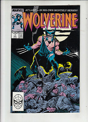 Wolverine #1 (Marvel 1988) 1st ongoing!  NM!
