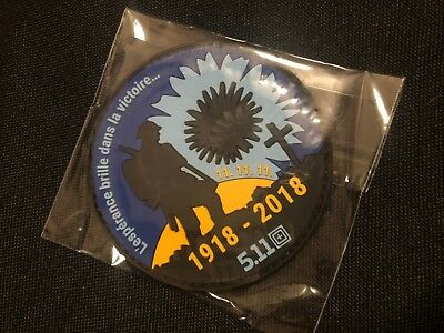 5.11 Tactical Poppy Patch Rememberence WW1 1918-2018 Limited